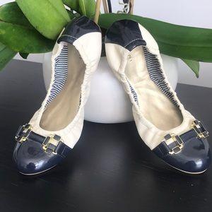 Tahari Leather Ballet Flat!!!!